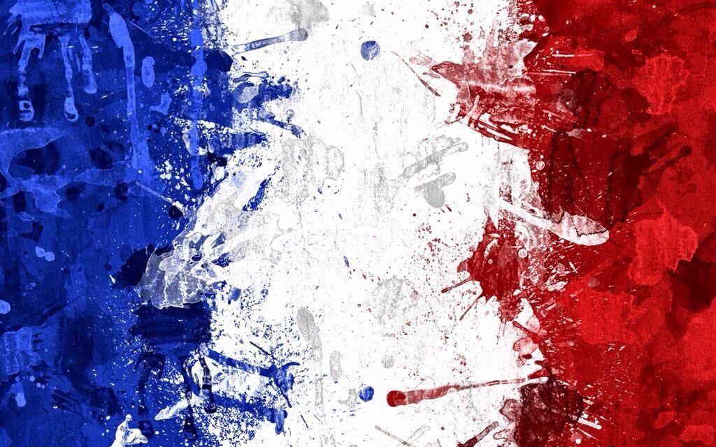 Drapeau France Drapeau Francais Abstrait Drapeau