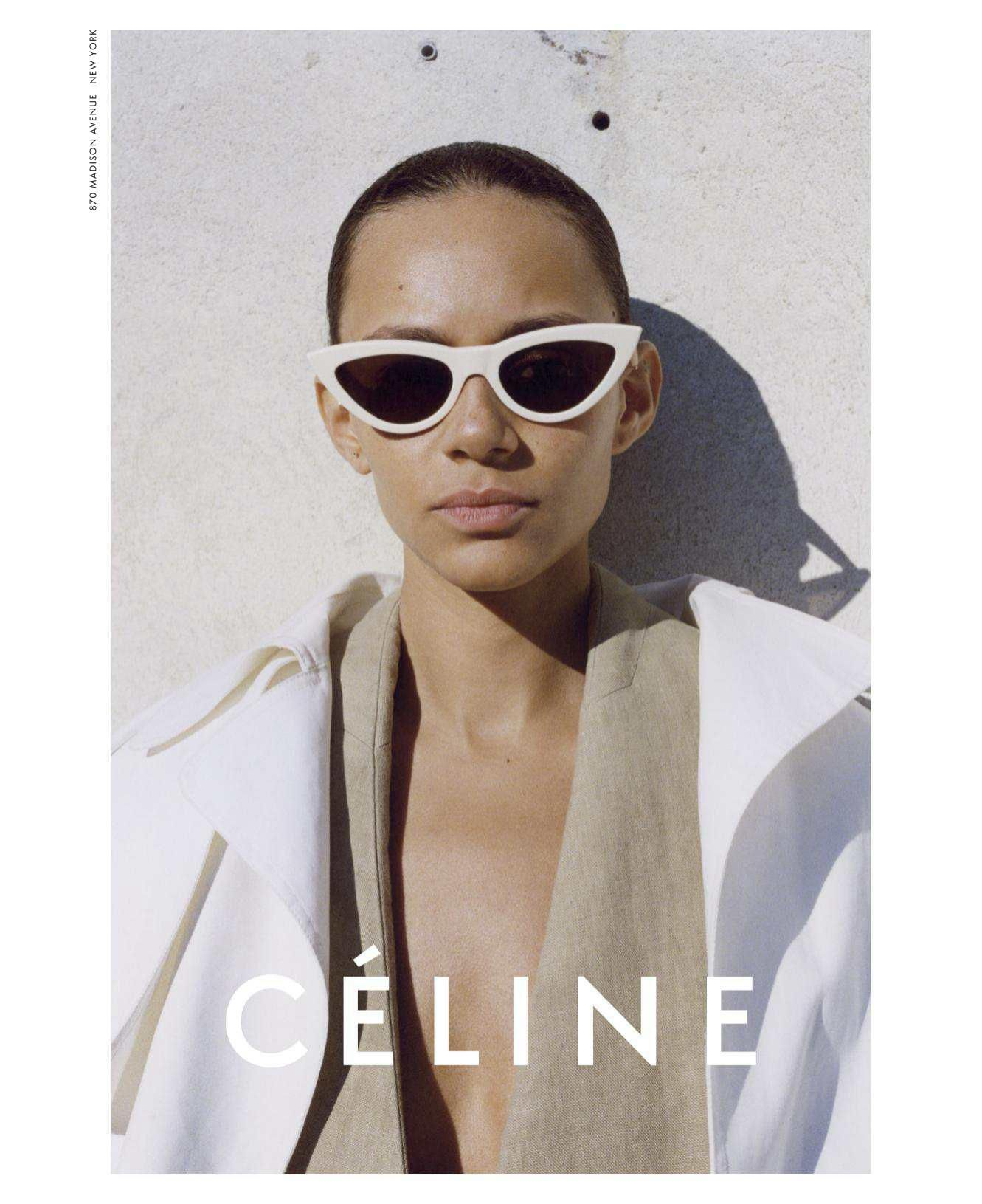 8d40a85404 Celine Spring Summer 2018 Binx Walton by Juergen Teller