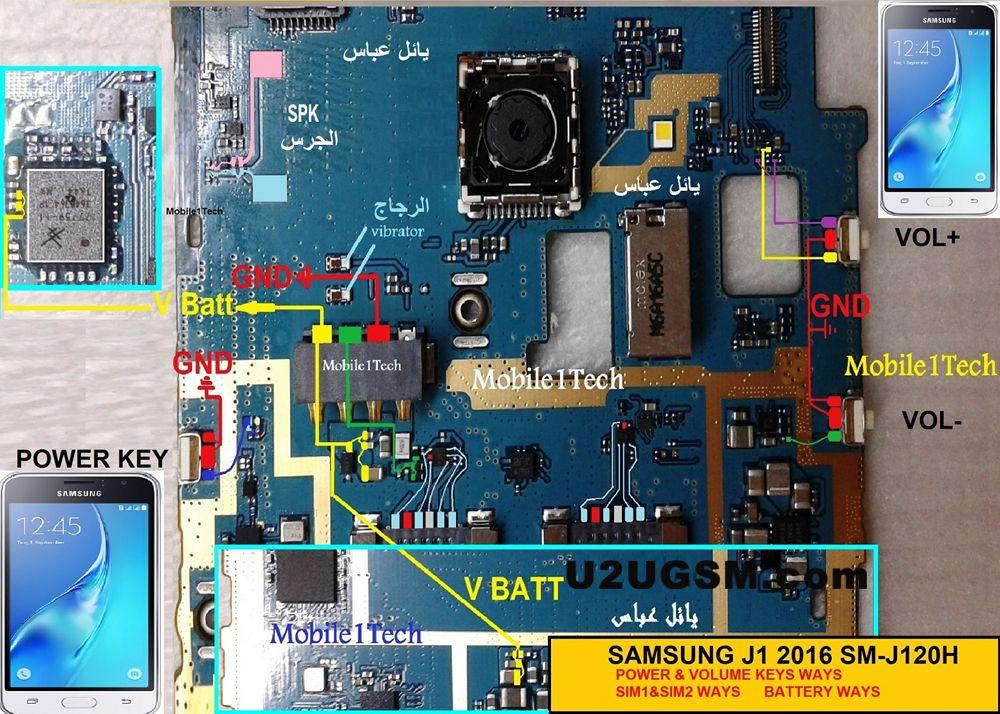 Samsung J1 J120 Volume Up Down Keys Not Working Problem Solution