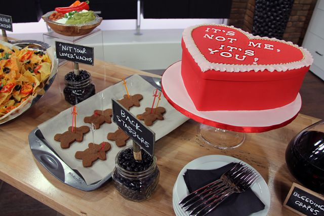 anti valentines party | ... Marilyn Denis Show | Entertaining | Plan an Anti-Valentine's Day Party