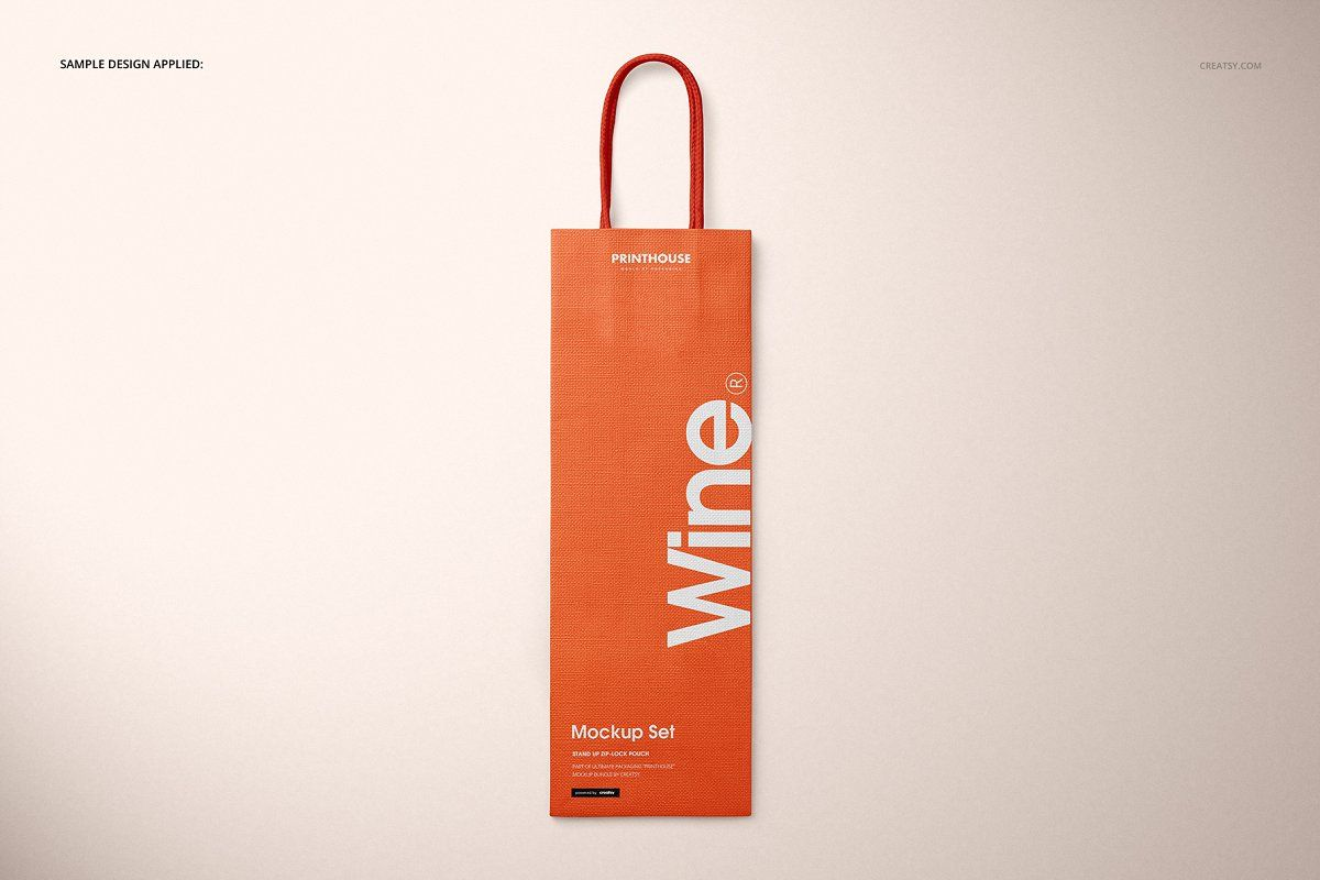 Download Eurotote Wine Tote Bag Mockup Set Wine Tote Bag Bag Mockup Wine Tote