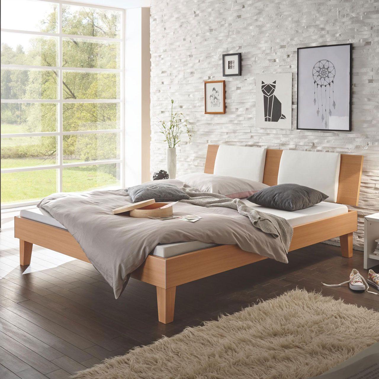 Das Hasena Bett im klassichen Design überzeugt mit
