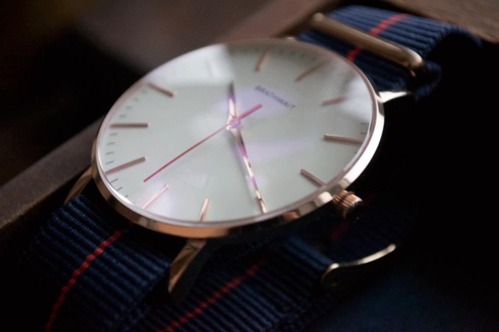 the classic slim wrist watch azur strap wrist watches watches the classic slim wrist watch azur strap
