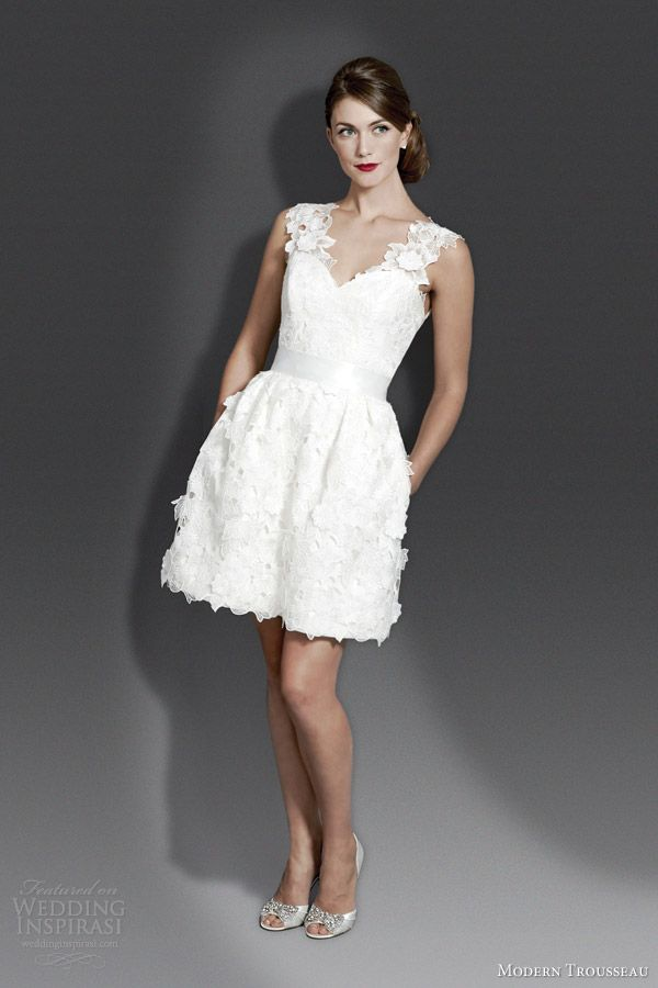 Modern Trousseau Fall 2014 Wedding Dresses | Short wedding dresses ...