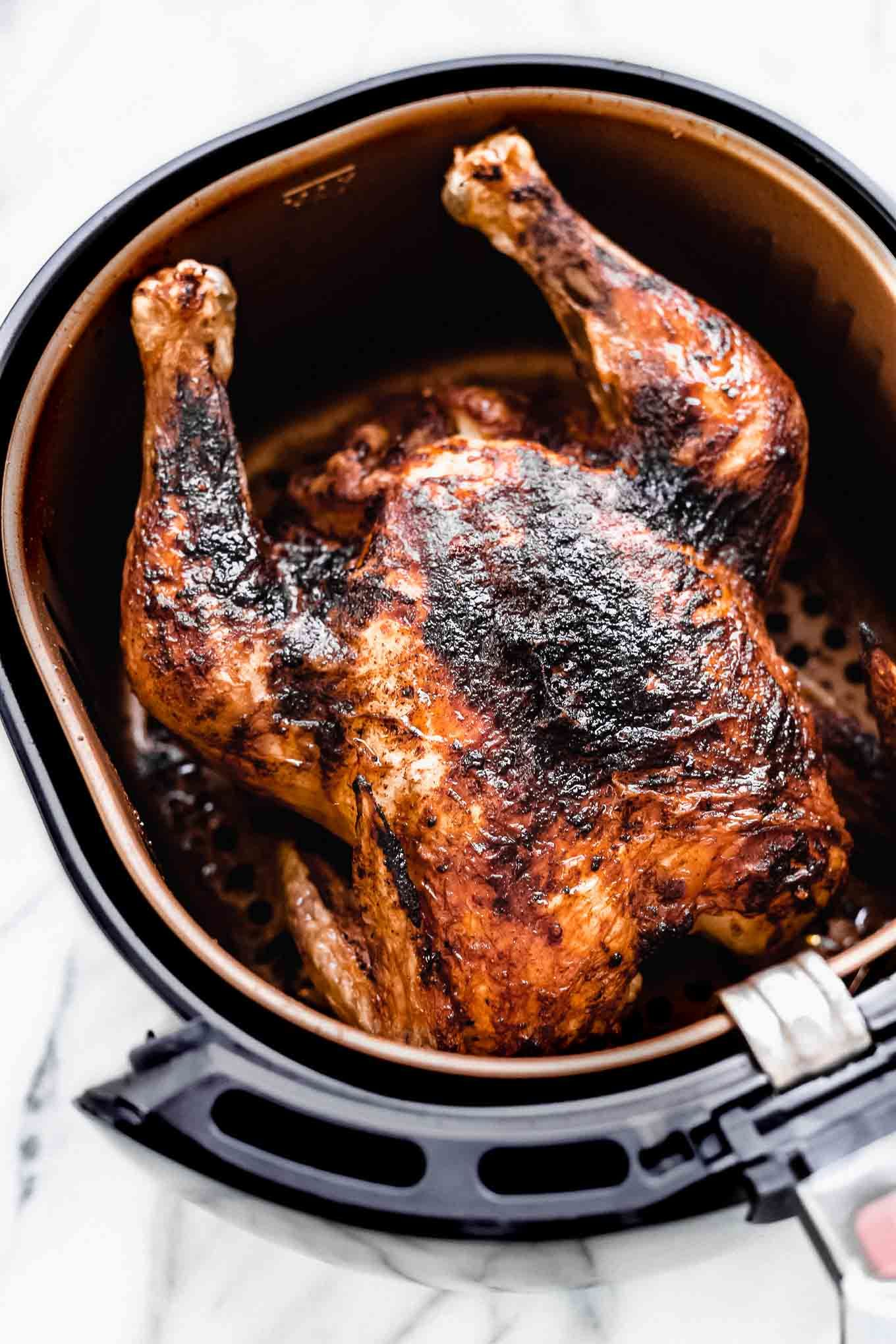 Air Fryer Whole Roasted Chicken Recipe Whole roasted