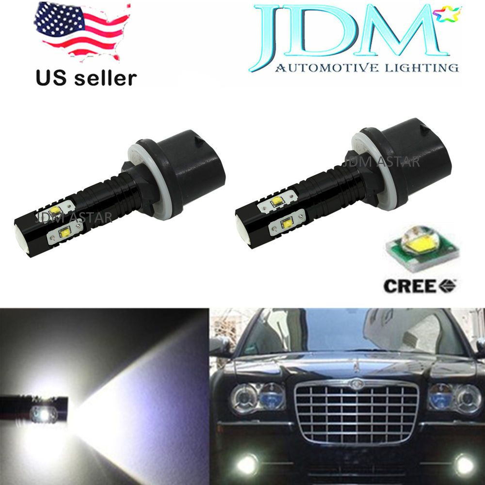 Jdm Astar 2x Super Bright Cree Led White 880 889 Fog Daytime Running Light Bubls Jdmastar Cree Led Automotive Led Lights Running Lights