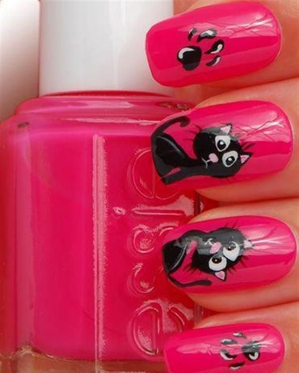 Superb Yet Creative Pink Nail Art Designs And Galleries For