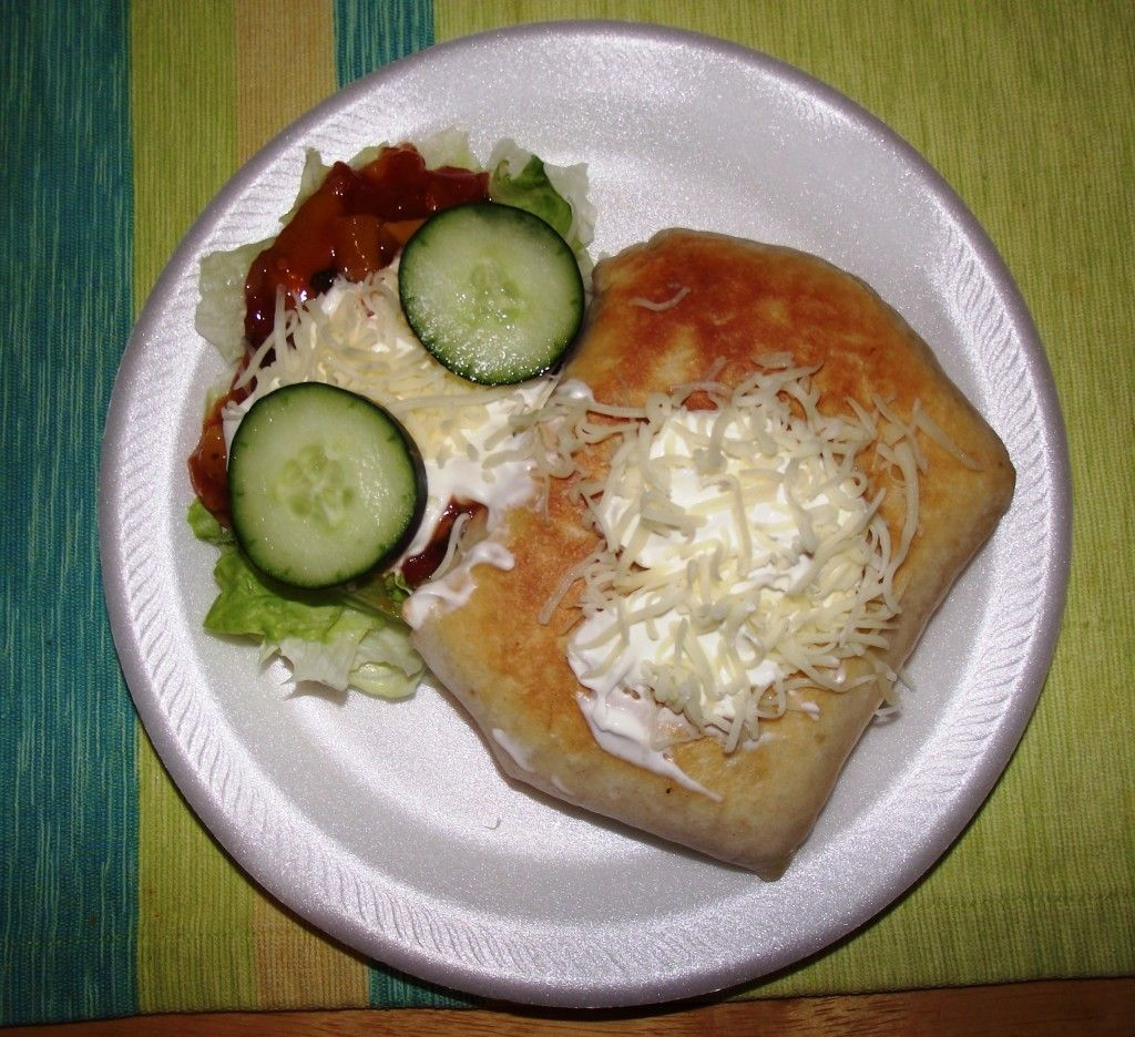 My Chicken Chimichangas (Photo by LoudPen)