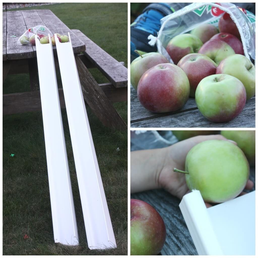Preschool Physics Apple Gravity Experiment Science Play