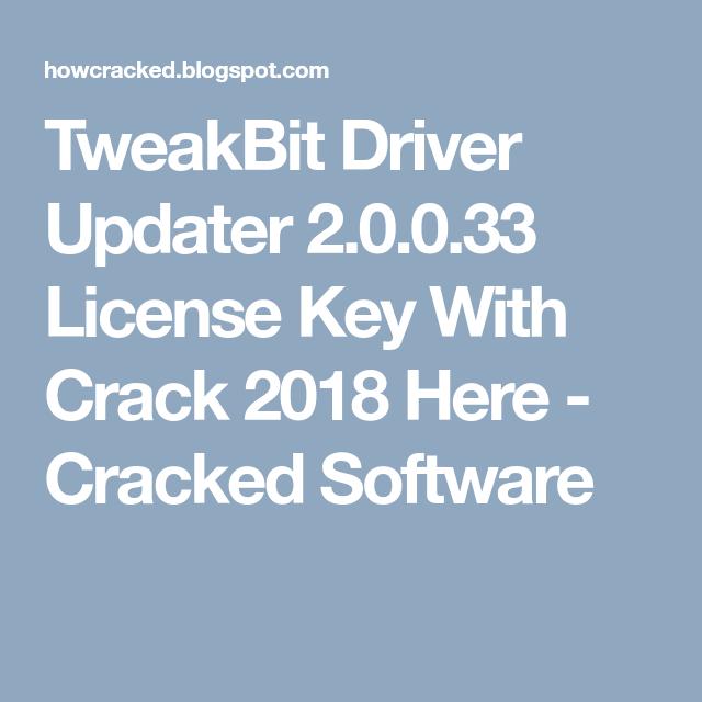 tweakbit license key 2018 free