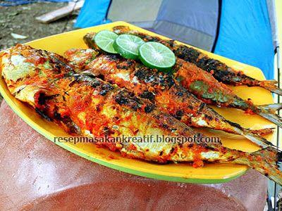 Resep Ikan Bakar Padang Bumbu Kuning Resep Ikan Resep Masakan Indonesia Resep