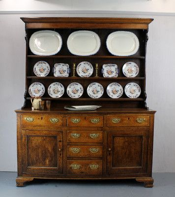 3250 Antique Welsh Dresser North Wales C 1820 Ebay