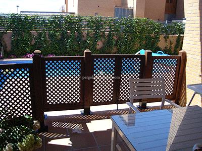 celos as de madera para terraza y jard n madrid toledo