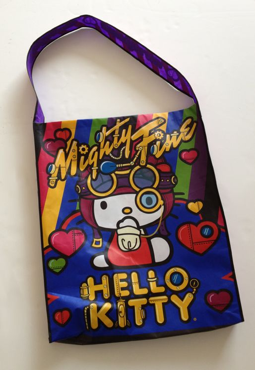 Hello Kitty schwag bag by MightyFine. PD