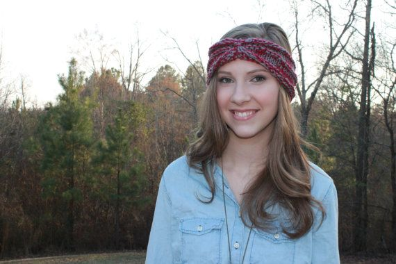 This. Headband. $15 Women's Handknit Headband by NorthSouthKnits on Etsy