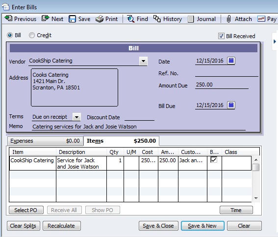 How Using Items Benefits Reporting In QuickBooks