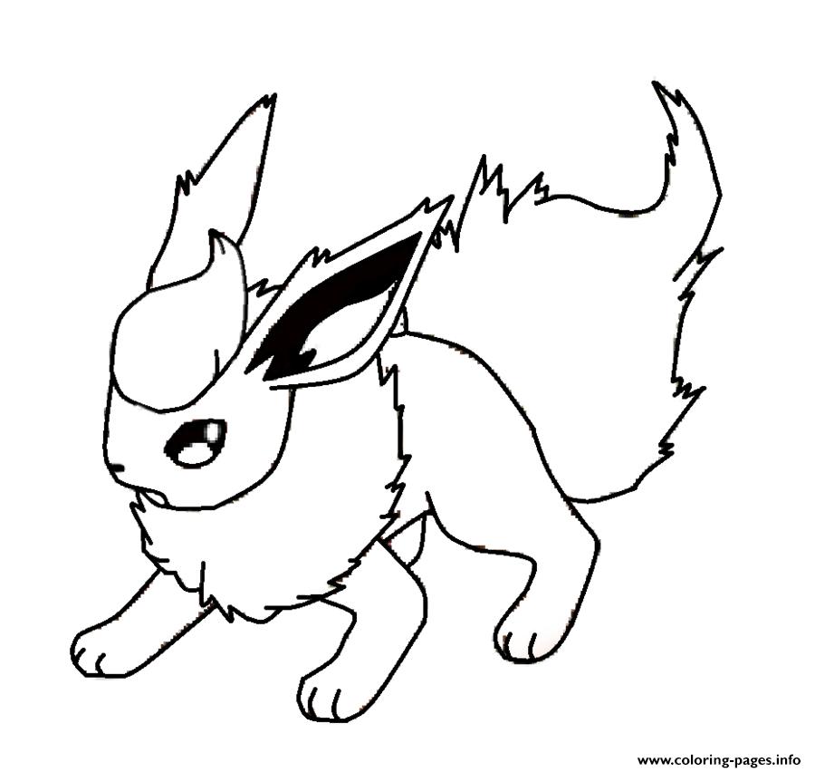 9655a32adb92bdeea86e6e9ffc6db669 » Eevee Pokemon Coloring Page