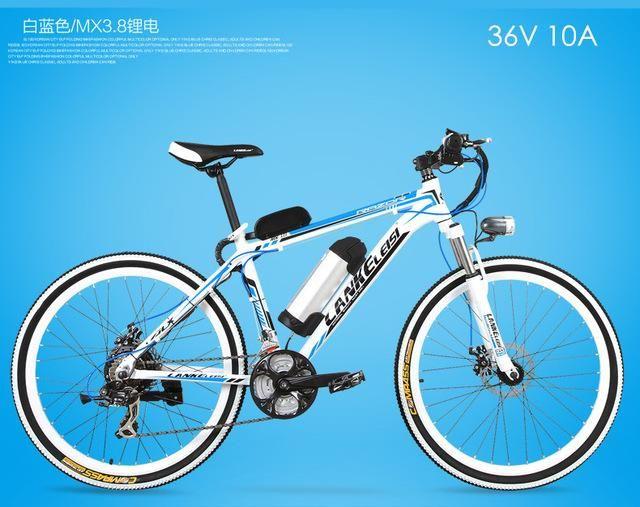 New Aluminum 36 48v 240w Lithium Battery Electric Bike Shiman0 21