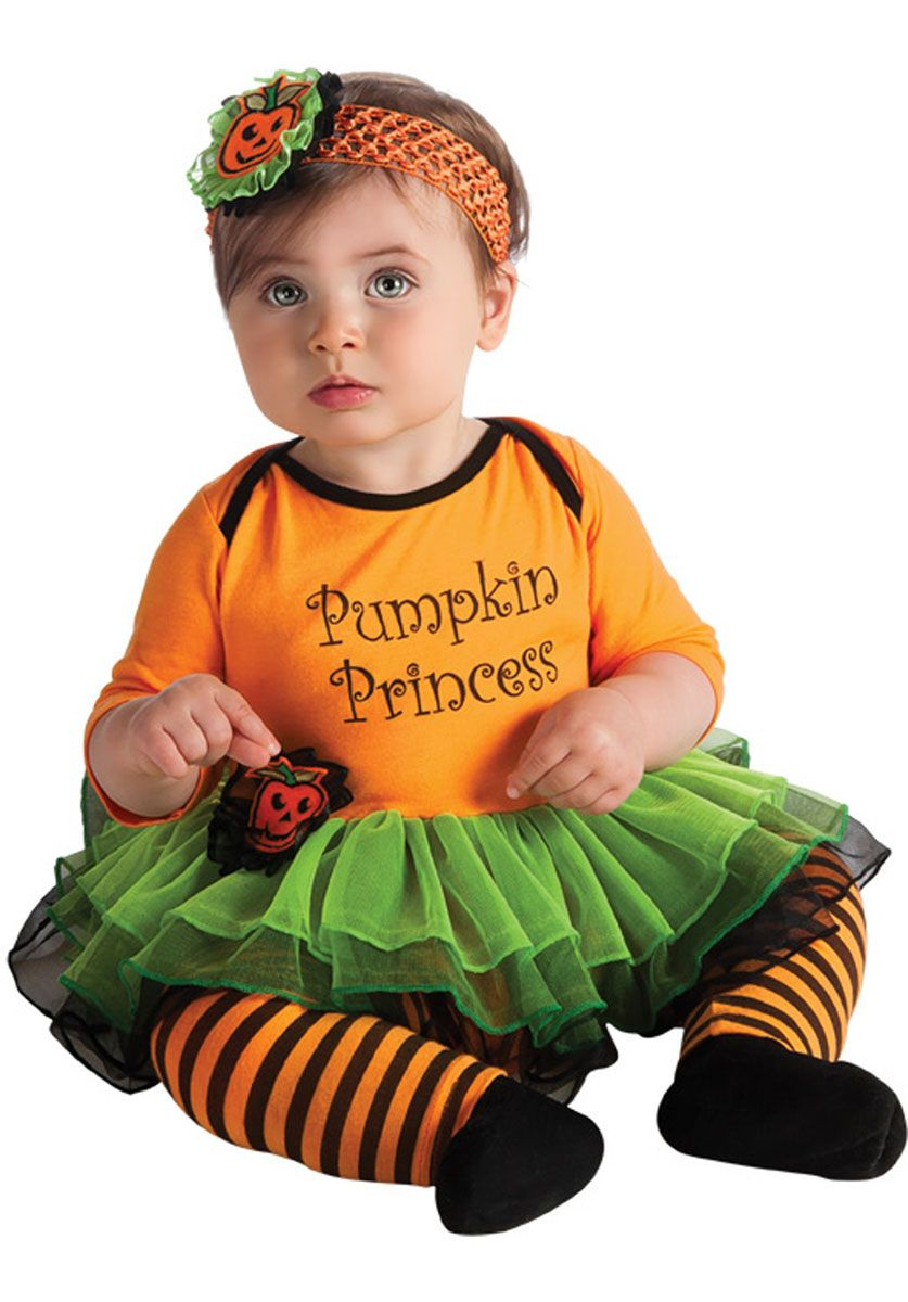 pumpkin princess costume newborn infant halloween outfit child