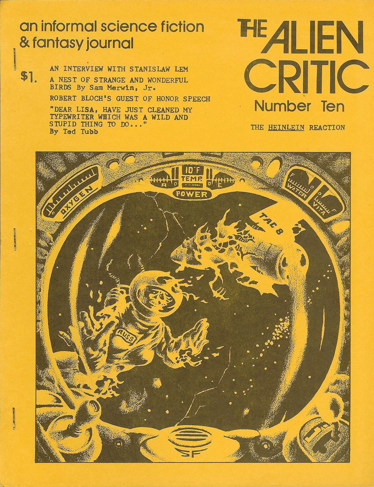 Steven Fabian, The Alien Critic, 1973. [Cadwalader Ringgold]