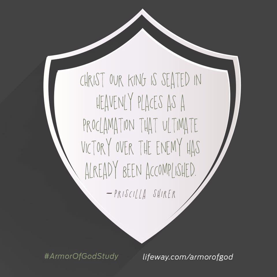 #ArmorofGodstudy #priscillashirer #ArmorofGod @lifewaywomen