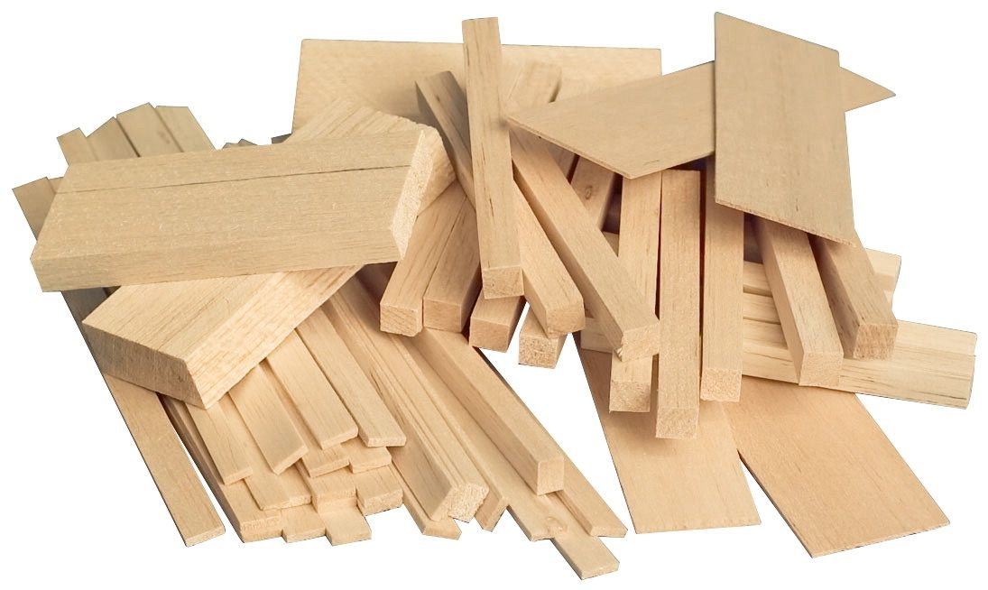 Sax Midwest Products Project Woods Balsa Economy Bag Assorted Size Crafts Wood Crafts Arts And Crafts Festival