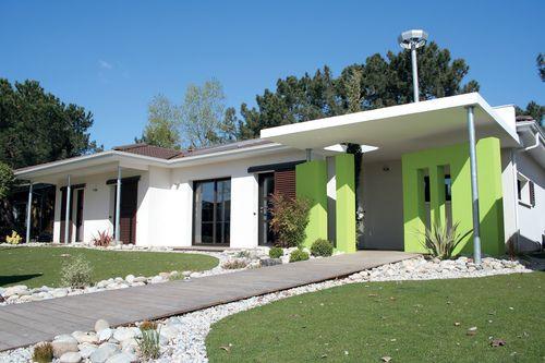 Maison à l\u0027architecture bioclimatique Bioclimatique, Le plan et Plans