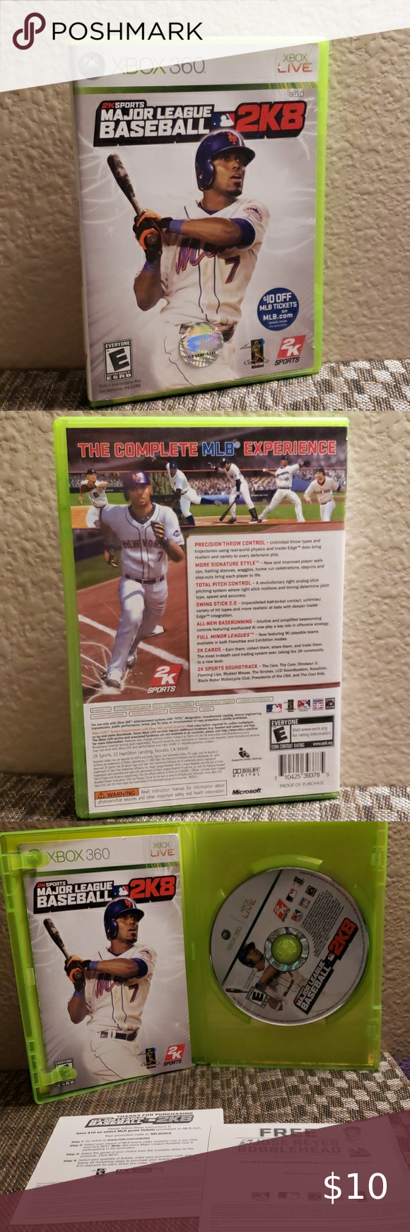 Xbox Mlb 2k8 In 2020 Great Father S Day Gifts Game Bundle Mlb