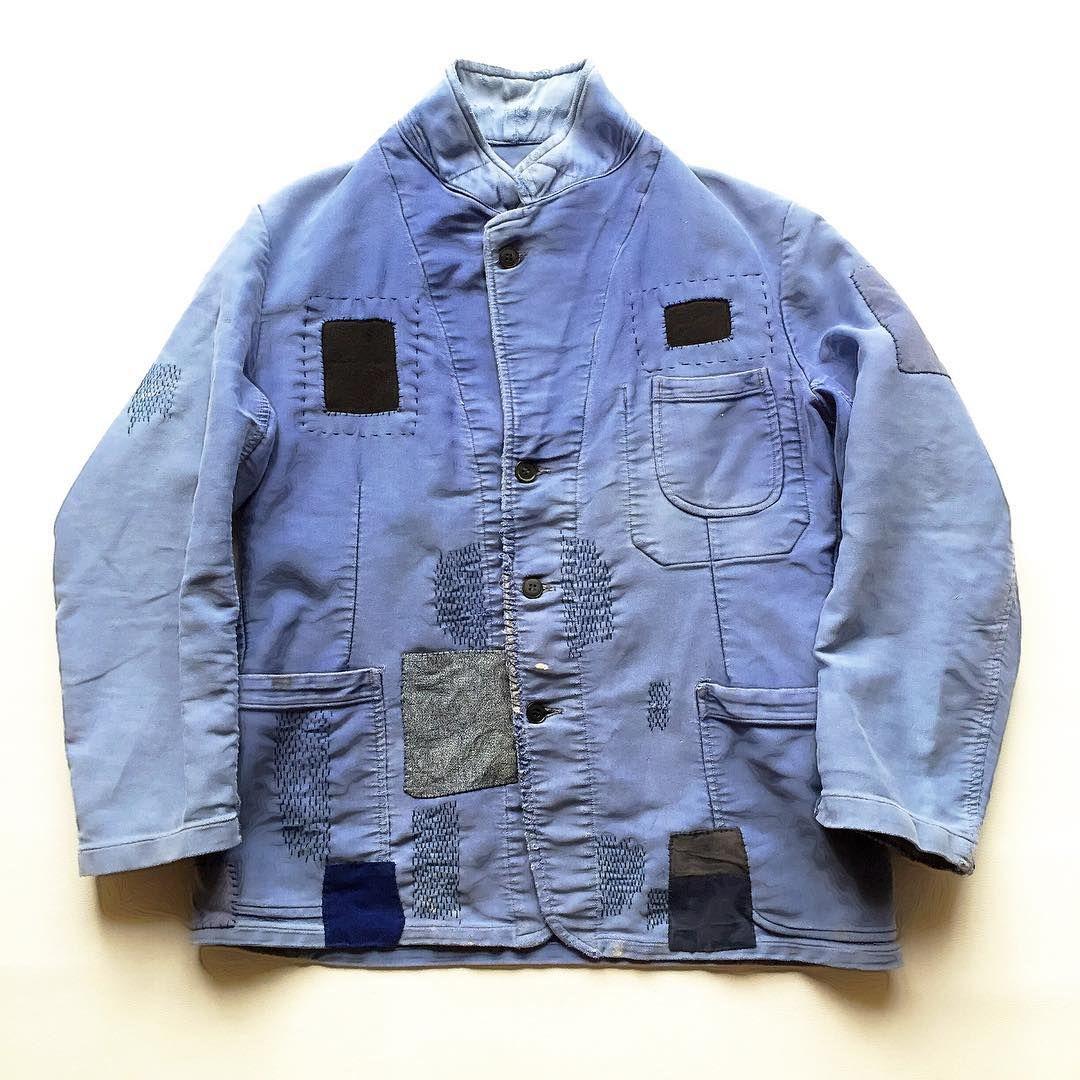 #vintage #jacket #menswear #patchwork #fashion #rugged