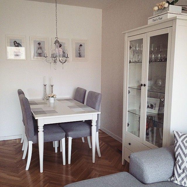 Home Ikea Wohnzimmer livingroom Landhausstil Shabby Vintage wei grau  wohnen  Pinterest