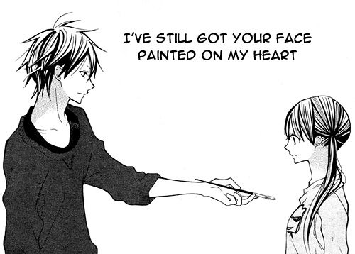 cute love quote anime hj story manga pinterest