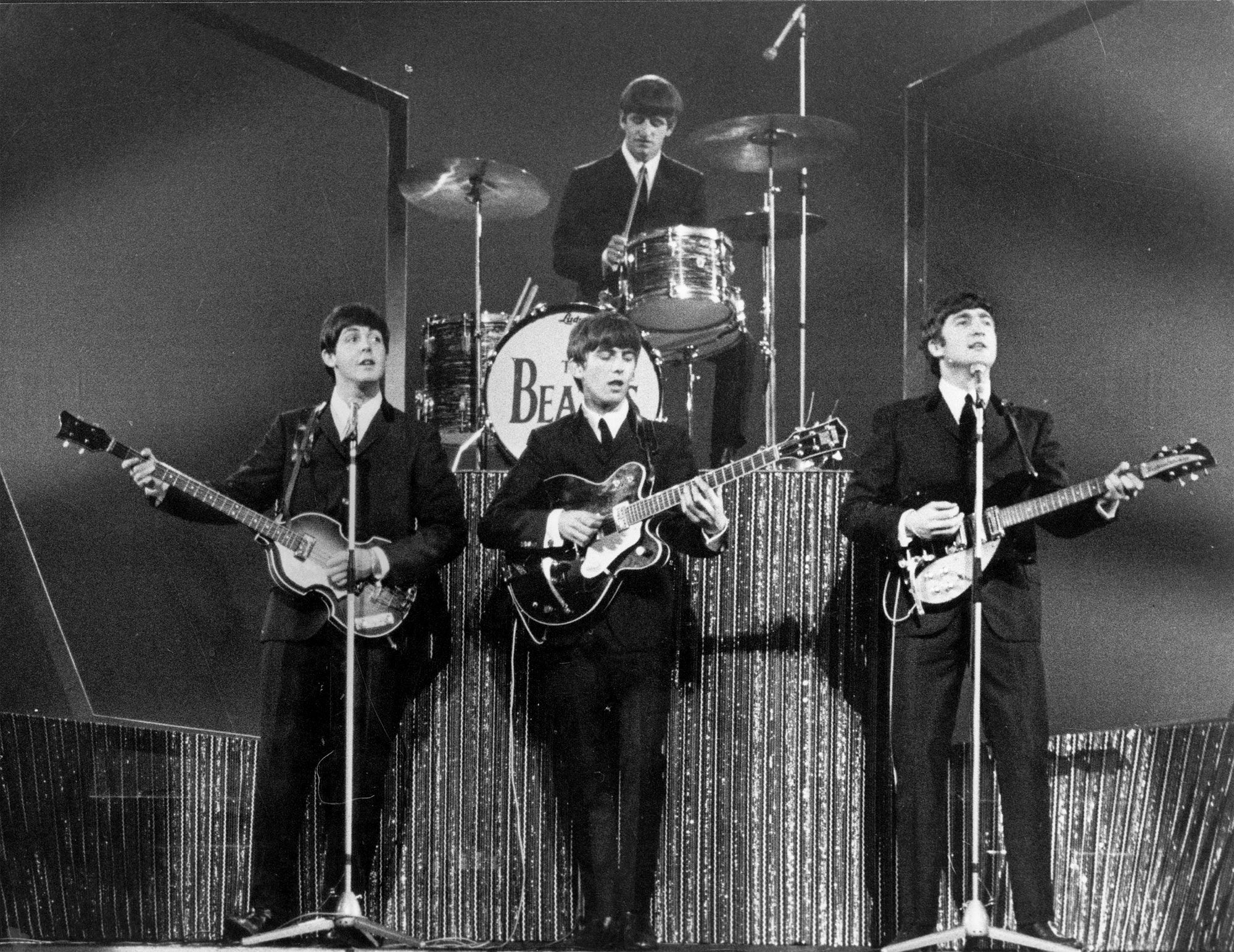 The Beatles at the London Palladium, October 13 1963
