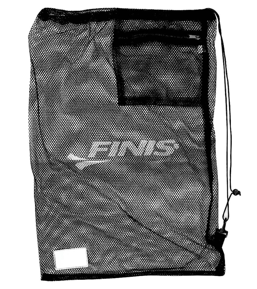 The Mesh Gear Bag Is A Convenient Way To All Swim Equipment Made Of Durable Nylon Material That Lets Air Flow Freely For