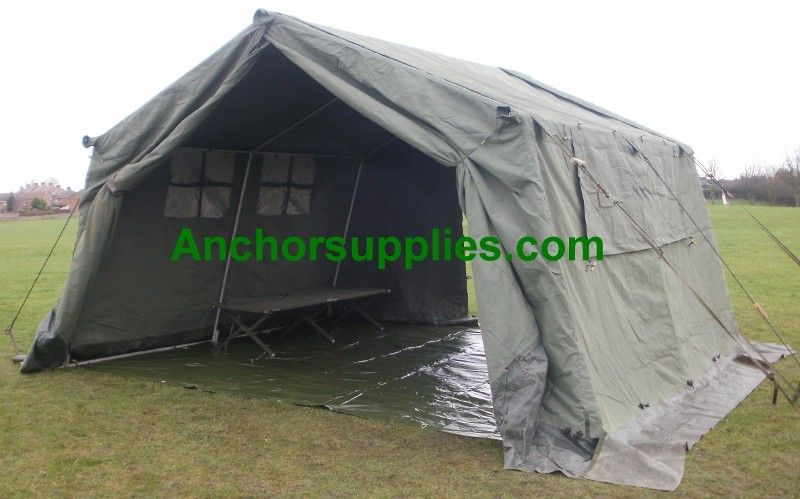 12x12 Ex British Army Frame Tent - B Grade   Mess tents   Army tent