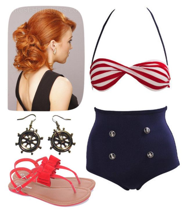 1775c9cecb553 swimming! by sadiembm on Polyvore featuring polyvore and beauty · Swim ...
