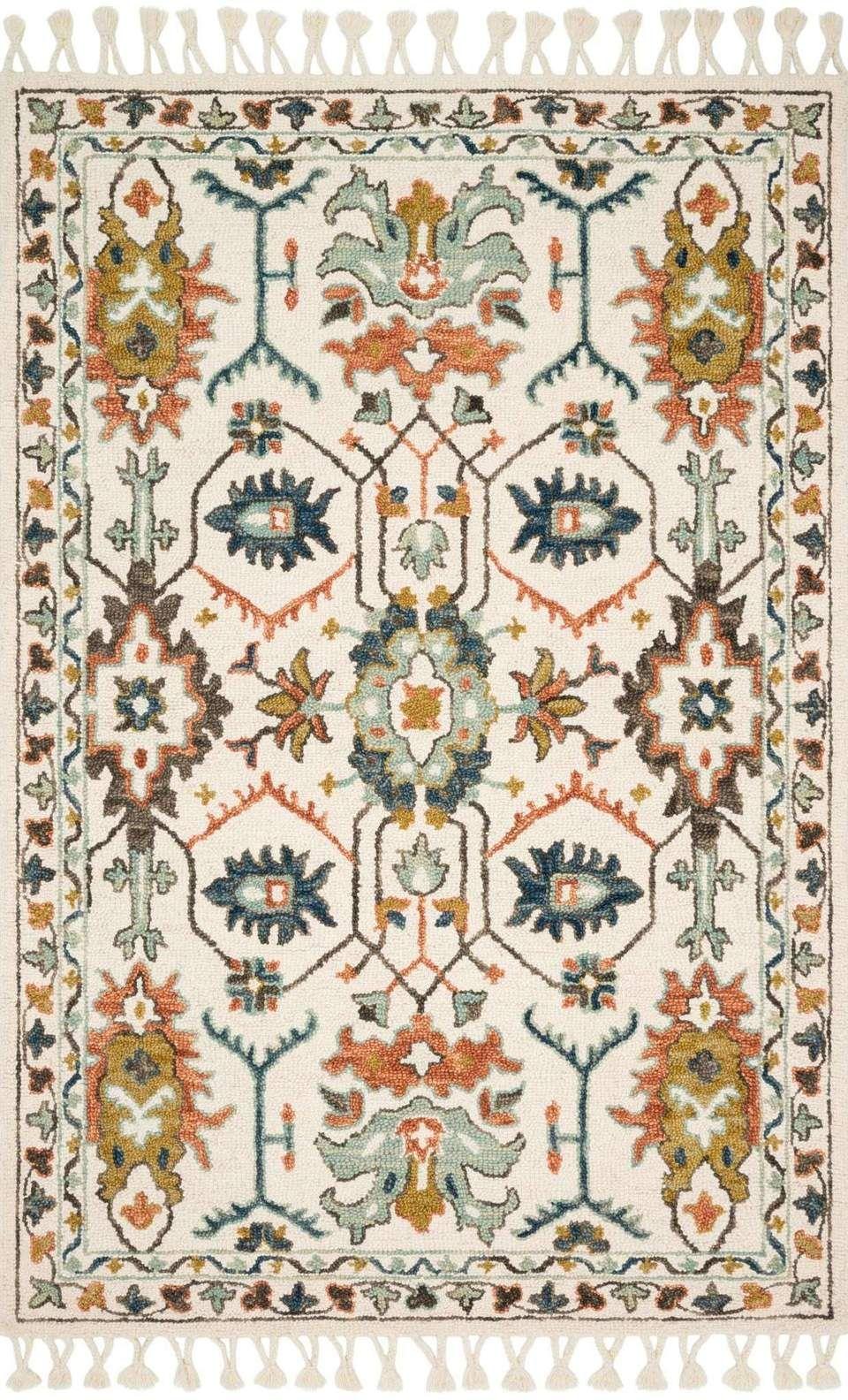 Kasuri By Magnolia Home Kb 05 Ivory Tuscan Clay Rug Magnolia