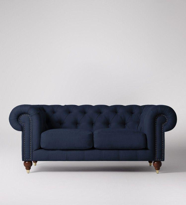 Winston Two Seater Sofa Swoon Editions Living Room Decor Inspiration Living Room Furnishings Sofa Design