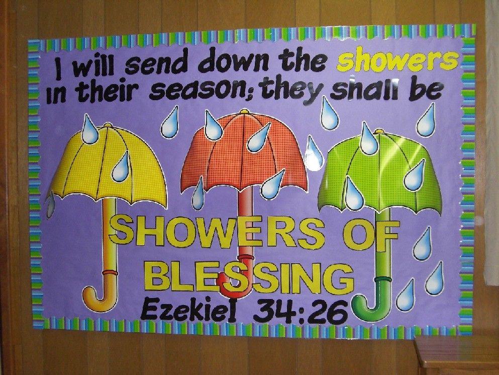 Quot Showers Of Blessings Quot Ezekiel 34 26 Bible Bulletin