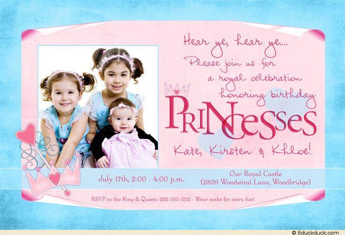 sister birthday card princess birthday