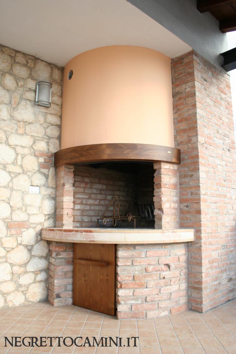 External fireplace camino da esterno - Camino da esterno ...