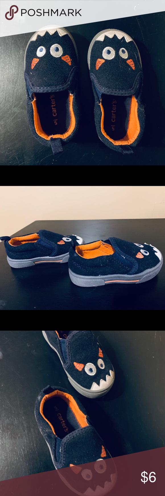 d5da803b4 Carters Toddler boy sz 5 monster shoes Excellent condition! Worn ...