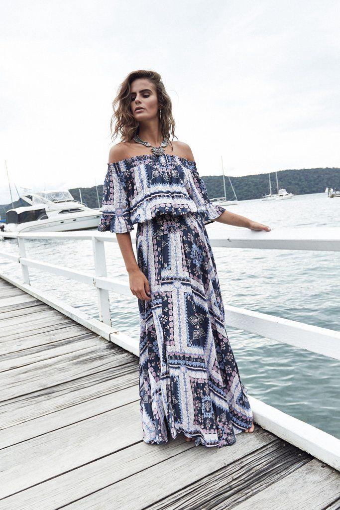 Leah dress - Isla print
