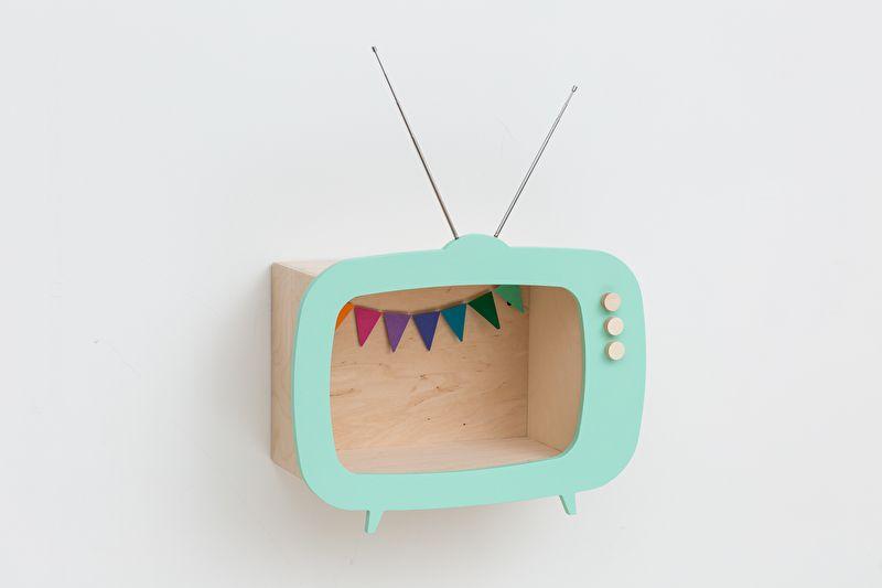 Up Warsaw houten mint televisie