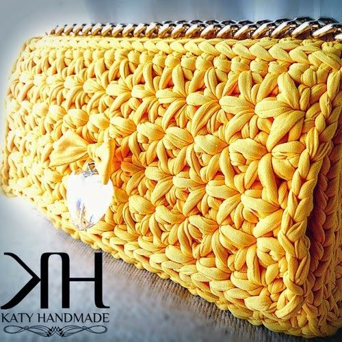 Patrones de crochet para tejer con trapillo cestas - Tejer con trapillo ...