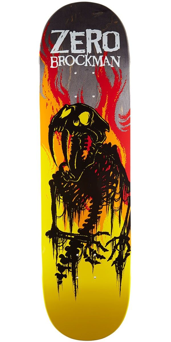 Zero from hell series impact light skateboard deck james brockman zero from hell series impact light skateboard deck james brockman 85 aloadofball Image collections