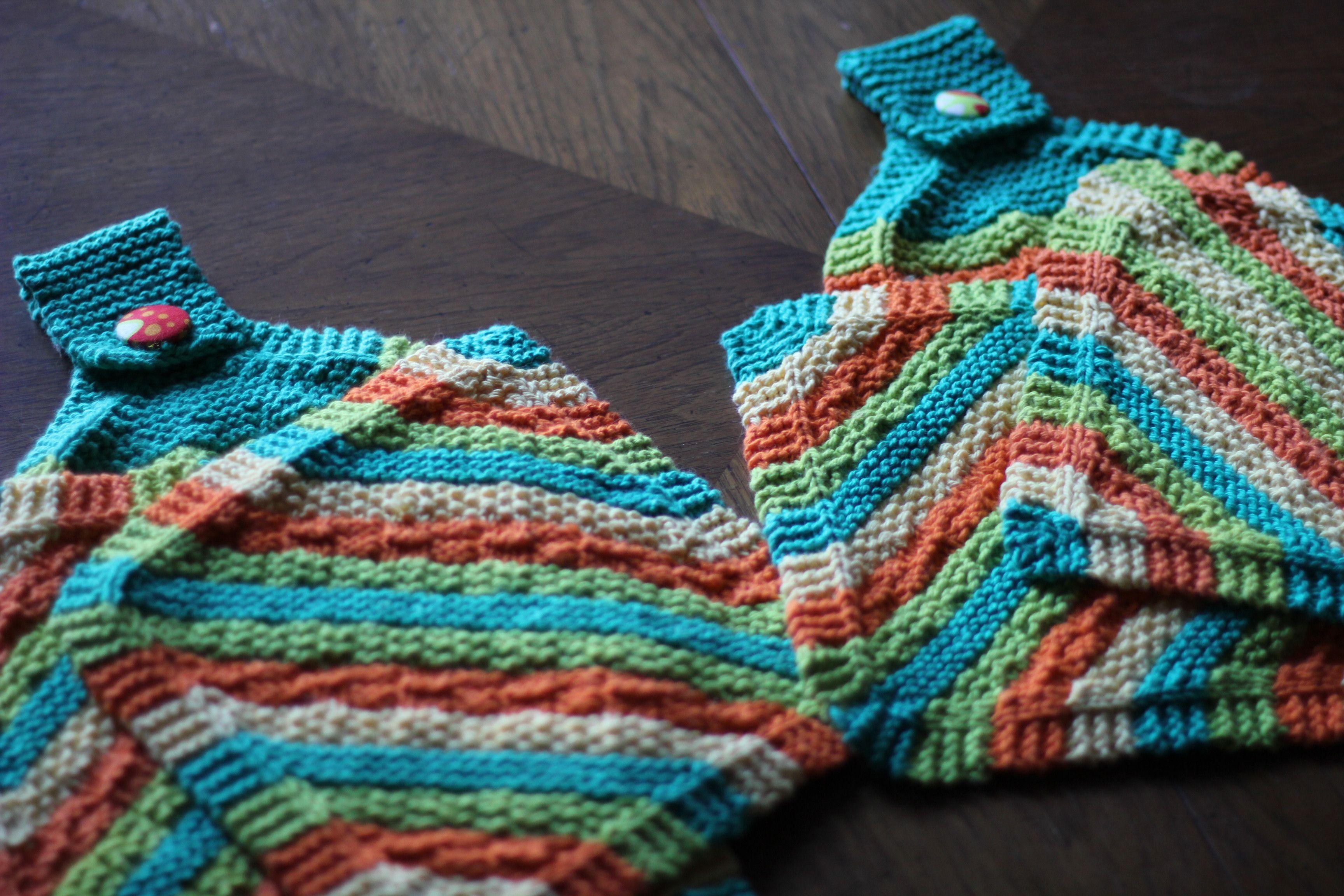 hot stripes kitchen towels knitting kitchen pattern ...