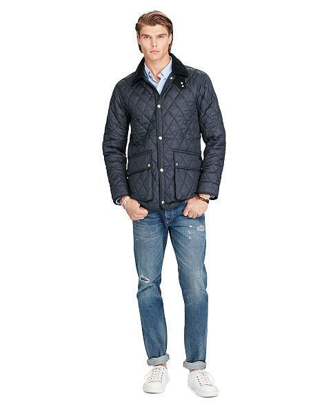 Diamond-Quilted Jacket - Polo Ralph Lauren Lightweight & Quilted ... : quilted ralph lauren jacket - Adamdwight.com