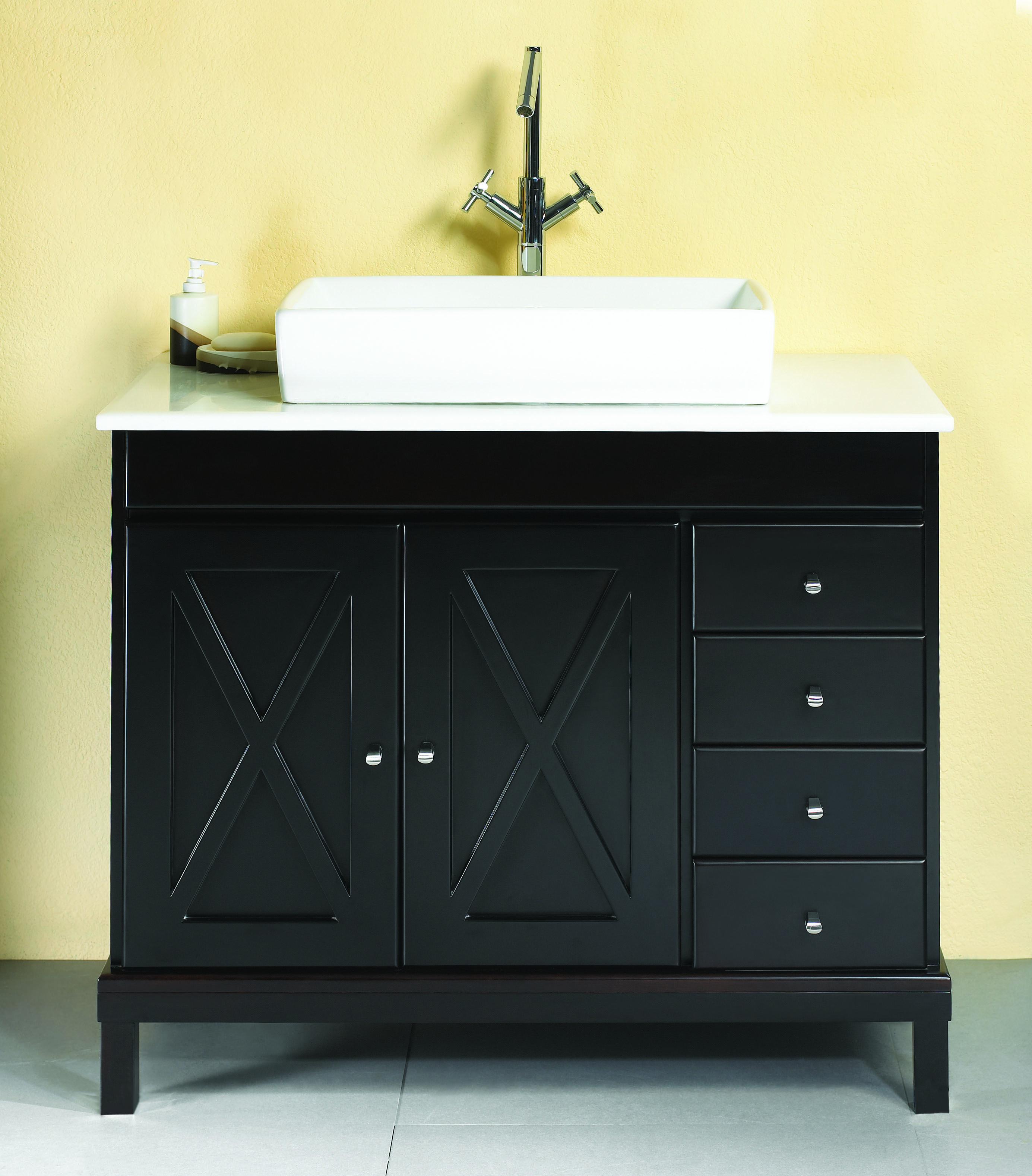 Rona Salle De Bain Vanite ~ add some contrast to your bathroom with the ove aspen vanity