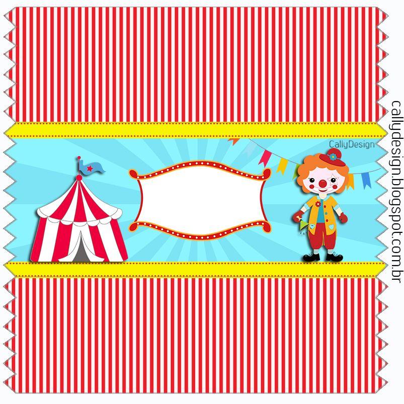 Embalagem Balinha Circo