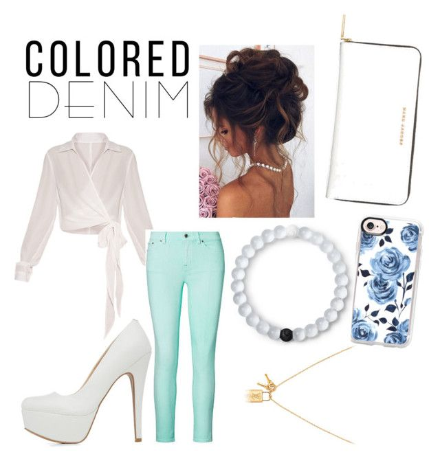 """""""Untitled #37"""" by yvonneminnie ❤ liked on Polyvore featuring Ralph Lauren, Qupid, Marc Jacobs, Casetify and Lokai"""
